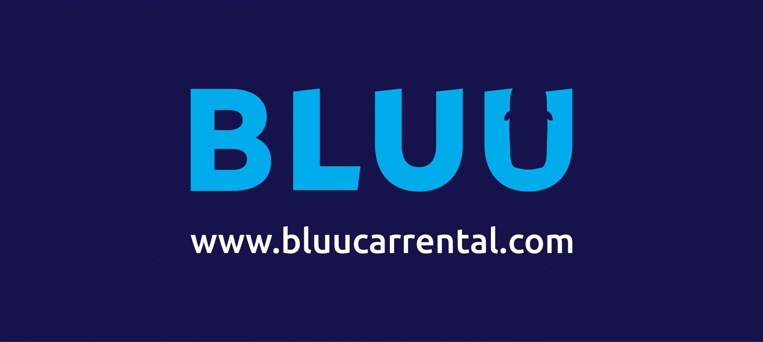 BLUU Car Rental Logo